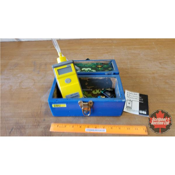 UEI Electronic Manometer Model EM100A