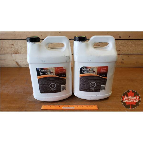 Kerosene 2-1/2 Gallon Jugs (2)
