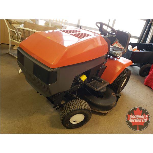 "Husqvarna YT180 Ride On Lawn Mower 18hp V-Twin Motor 42"" Cut"