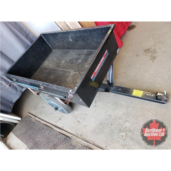 Ranch King 10cu ft Dump Cart (Box Size: 48 x 32 x 12H)