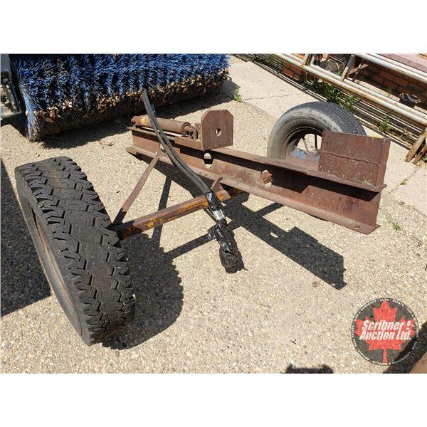 """Homebuilt Hydraulic Log Splitter (72""""L x 67""""W)"""