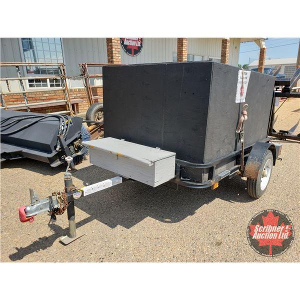 2009 Snowbear 6' x 4' Utility Trailer w/Plywood Cargo Box) w/Spare Tire (S/N#2SWUW11A59G412639)