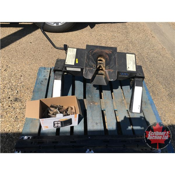 Fifth Wheel Hitch with Rails (SEE PICS!) Proceeds to CT Scanner Project - Wainwright, AB