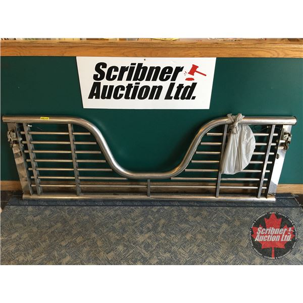 Stainless Steel Truck Gate (SEE PICS!)  Proceeds to CT Scanner Project - Wainwright, AB