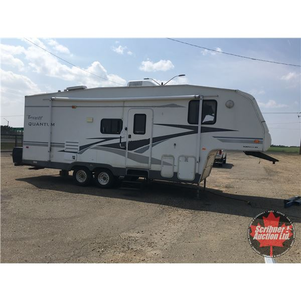 2004 Terry Fleetwood Fifth Wheel Holiday Trailer (1 Large Slide) (New Hot Water Tank, AC, System ...
