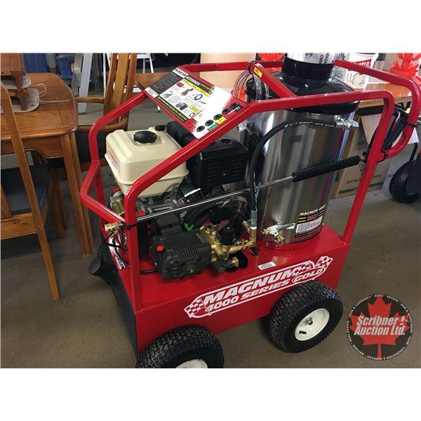 NEW SURPLUS Pressure Washer : Magnum Gold 4000 Series 4000PSI - 15hp Electric Start Gas Engine (Dies
