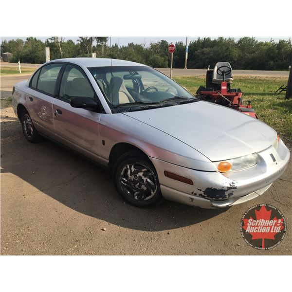 2002 Saturn SL : 4dr : Manual Transmission (ODM Shows: 167,000) (Some Body damage - See Pics)
