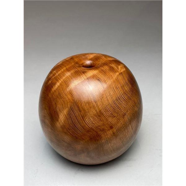 David Ellsworth   Figured Redwood Pot, 2020