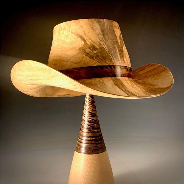 JoHannes Michelson   Full-size Wooden Hat