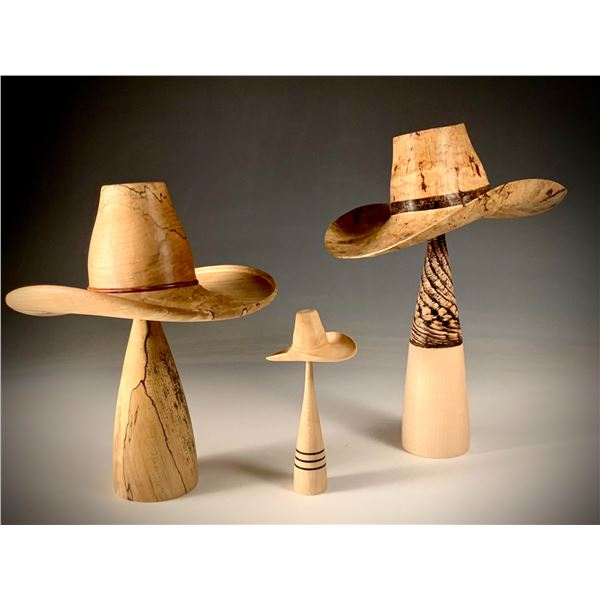 JoHannes Michelson   Trio of Small Hats