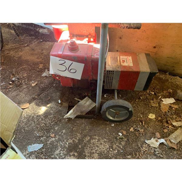 Generator w/cart