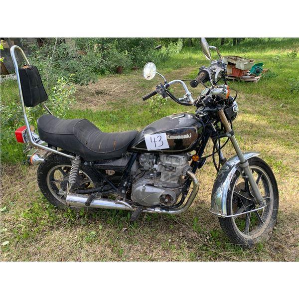 Kawasaki LTD 440 motorbike - not running