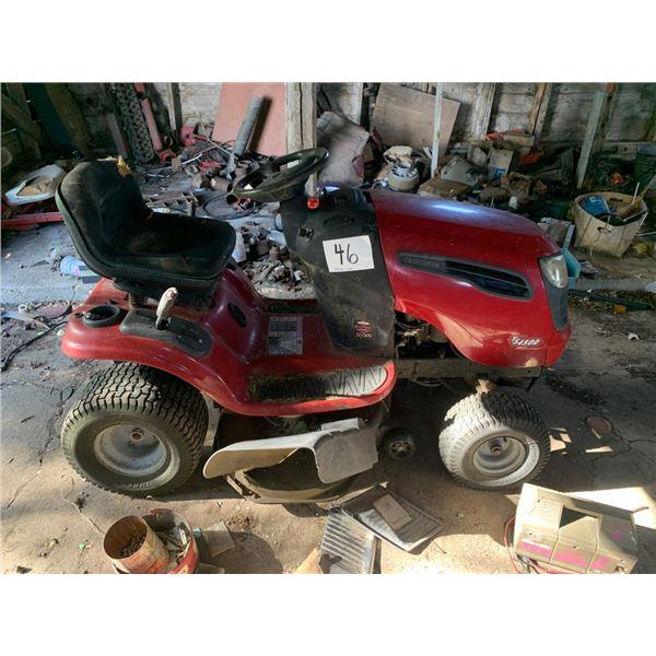 Craftsman Riding lawnmower, 42 in cut