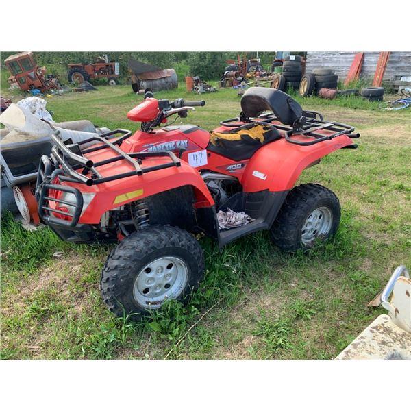 Arctic Cat 400 ATV