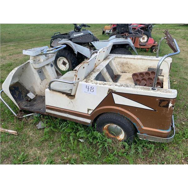 Harley Davidson 3 wheel golf cart