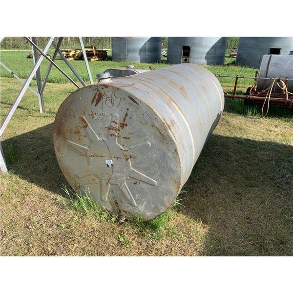 500 gal fuel tank w/steel stand