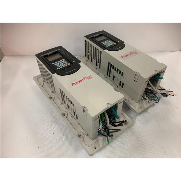 (2) Allen Bradley 20G11F D 022 AA0NNNNN Powerflex 755