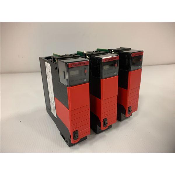 (3) Allen Bradley 1756-L7SP Safety Partner