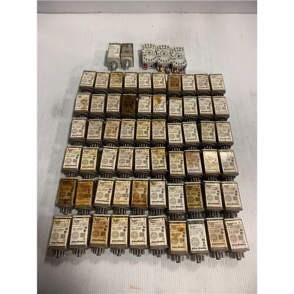 Lot of Allen-Bradley Relays 700-HA33A1-1-4 120VAC