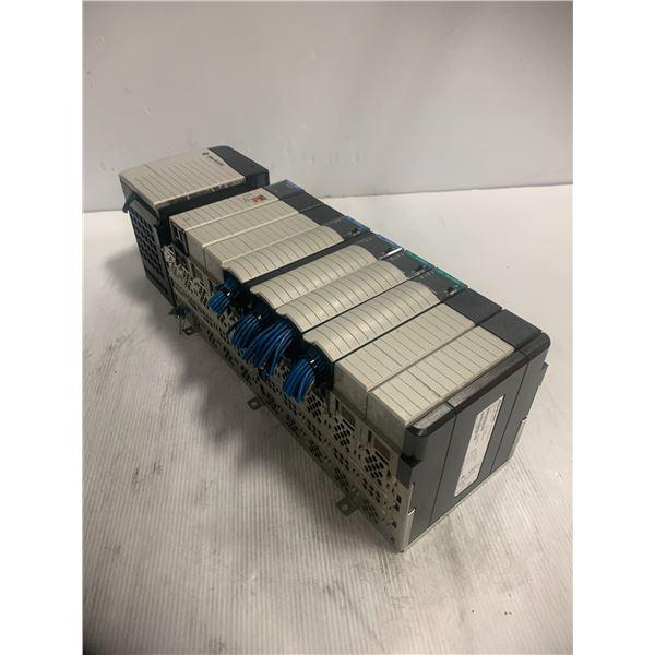 Allen Bradley Rack with Modules As Shown In Photos