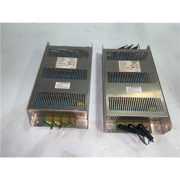 (2) - Rockwell Automation CAT 2090-XXLF-X330B Bulletin 2090 RFI Filters 30 Amp