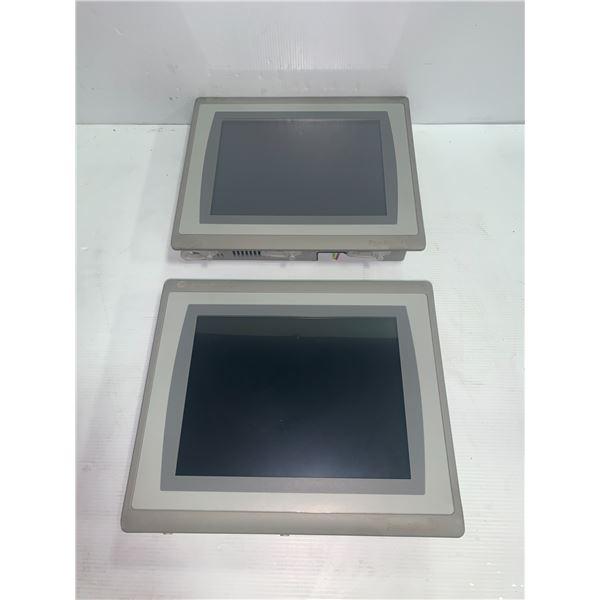 (2) Allen-Bradley 2711P-T10C21D8S Panelview Plus 7 Screens