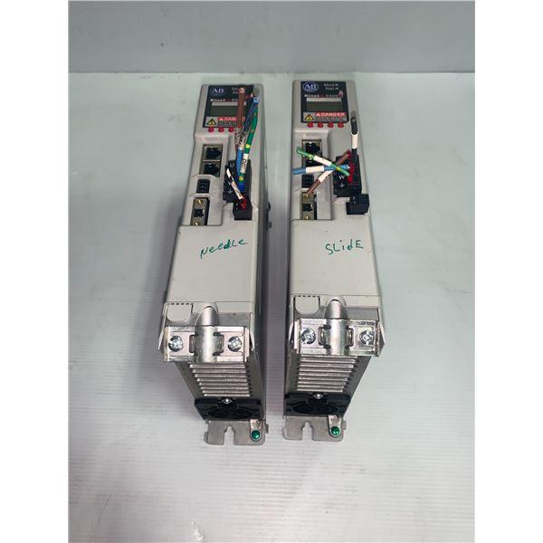 (2) - Allen-Bradley 2198-H015-ERS 12.5A Servo Drives