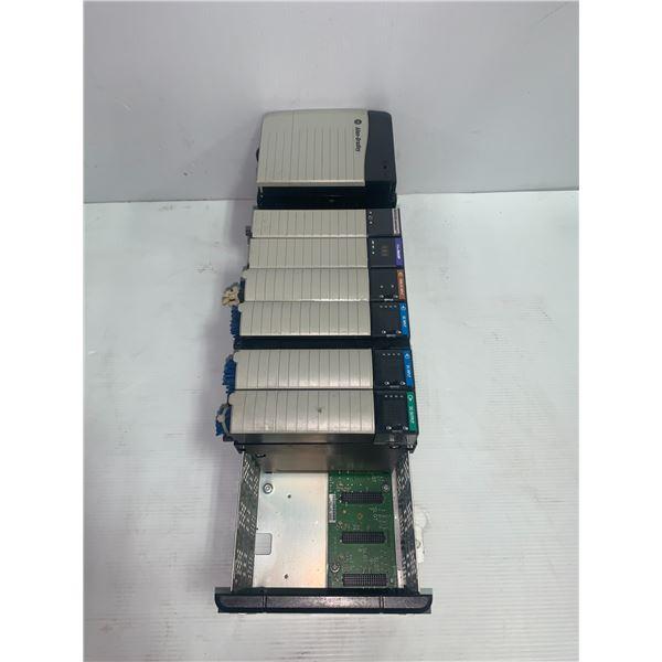 Allen-Bradley Rack w/Modules As Shown