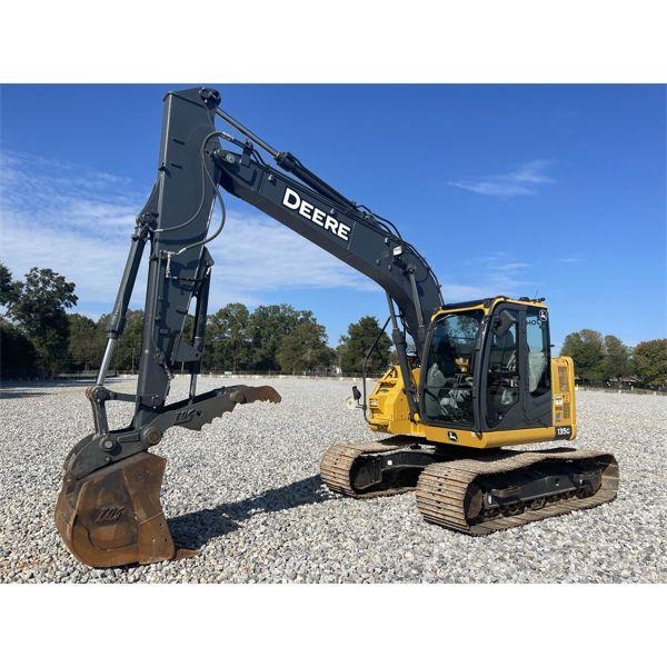 2019 JOHN DEERE 135G Excavator