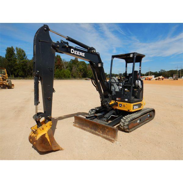 2018 JOHN DEERE 35G Excavator - Mini