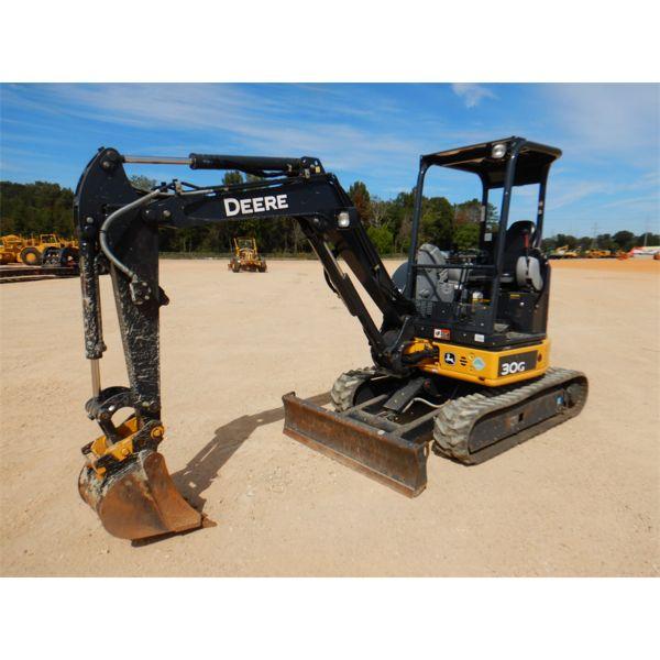 2019 JOHN DEERE 30G Excavator - Mini