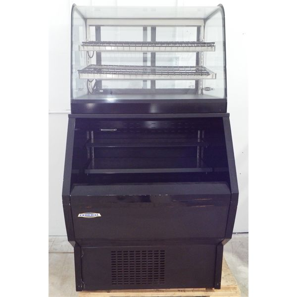 Used Federal Grab & Go Cooler with Display Cooler
