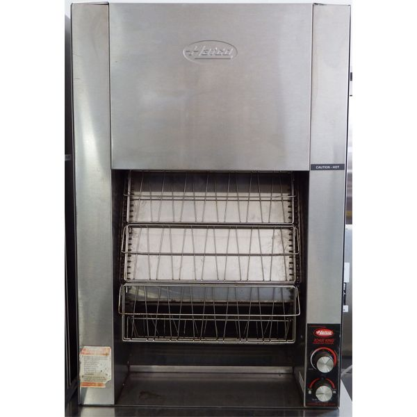 Used Hatco Conveyor Toaster Tk-100, 3 Slices Wide