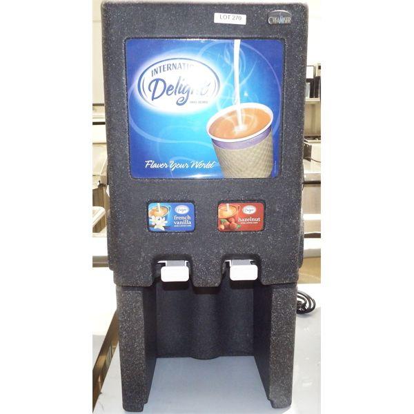 Used - CreaMiser 210 International Delight Bulk Creaming Dispenser 110-120V, 60Hz, 15A or 20A