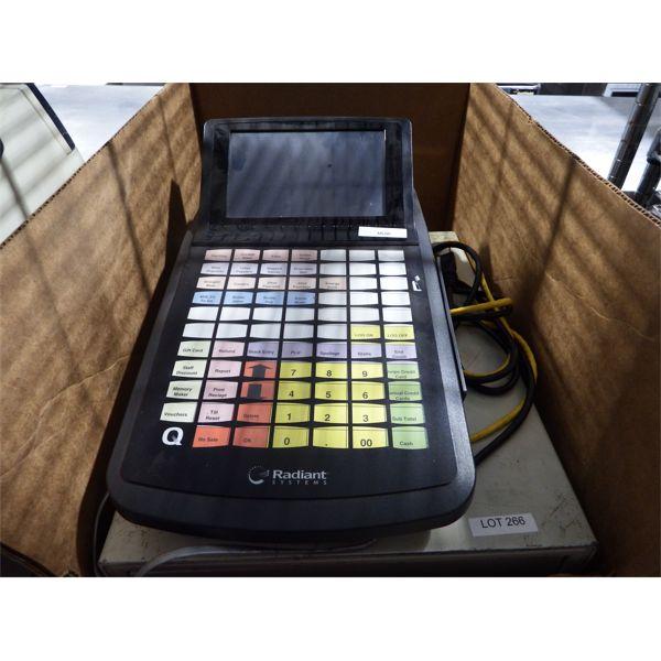 Used - Radiant System Cash Register