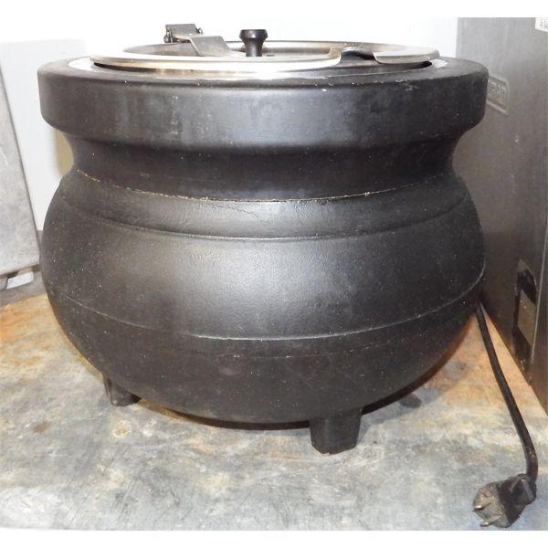 Used - Black Soup Warmer