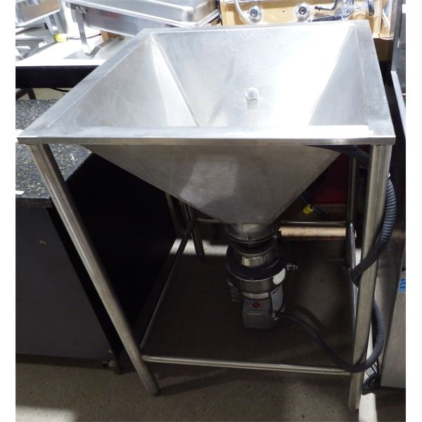 Used - Waste King 1000-1, 1 HP Commercial Food Waste Disposer
