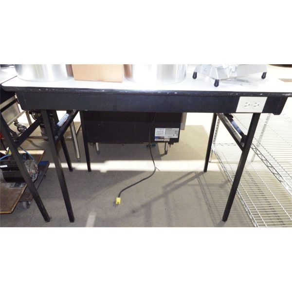 """Used - 48"""" Table with Plug Block"""