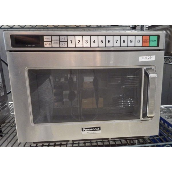 Used - Panasonic NE-5157CR 3200W Commercial Microwave