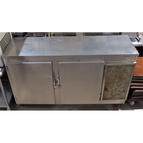 Used MKE Stainless Steel Beer Cooler BB7 2 SC