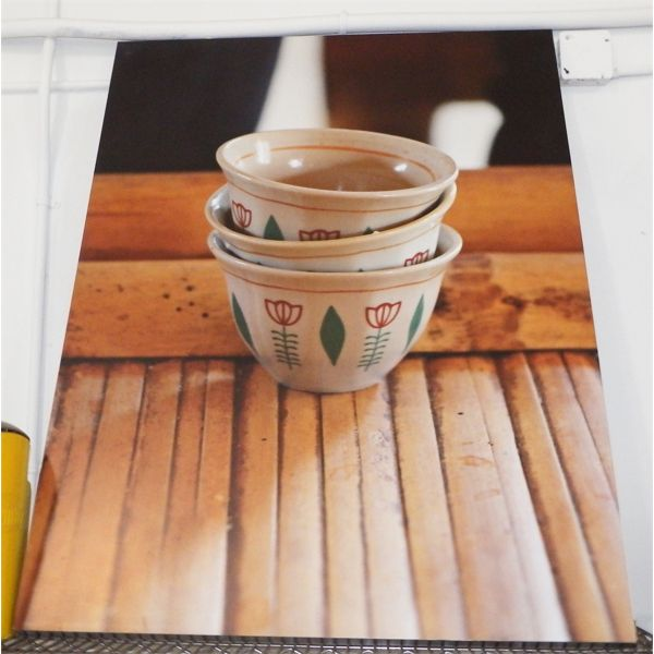 """Used Large Picture for Coffee House  - No Damage - 36"""" W x 48"""" H x 2"""" D"""