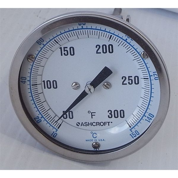 """Used Ashcroft 3"""" Thermometer"""