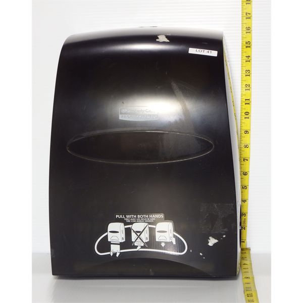 Used Kimberley-Clark No Touch Manual Paper Towel Dispenser