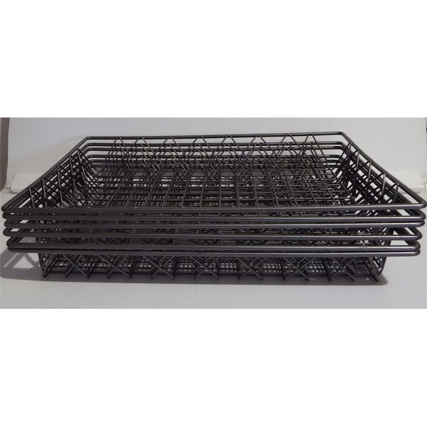 """Lot of 6 New Muffin/Baking Wire Tray 18"""" W x 13"""" D x 2"""" H"""