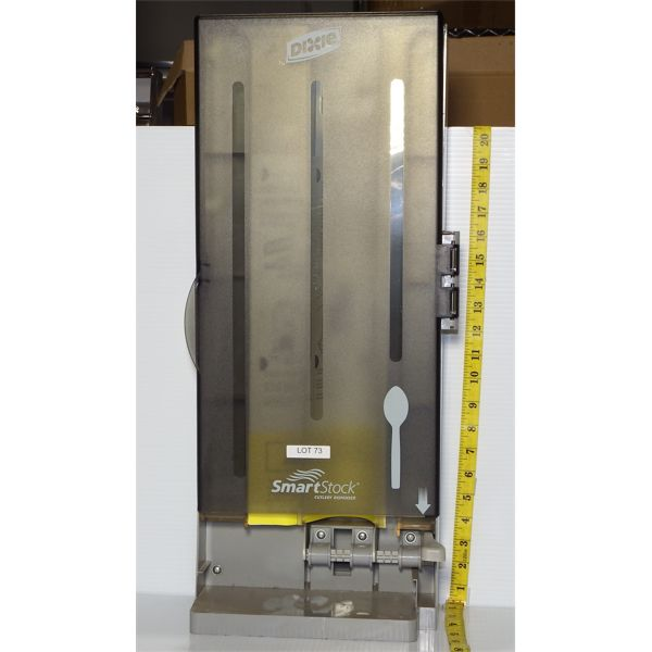 Dixie Used Smartstock Disposable Spoon Dispenser