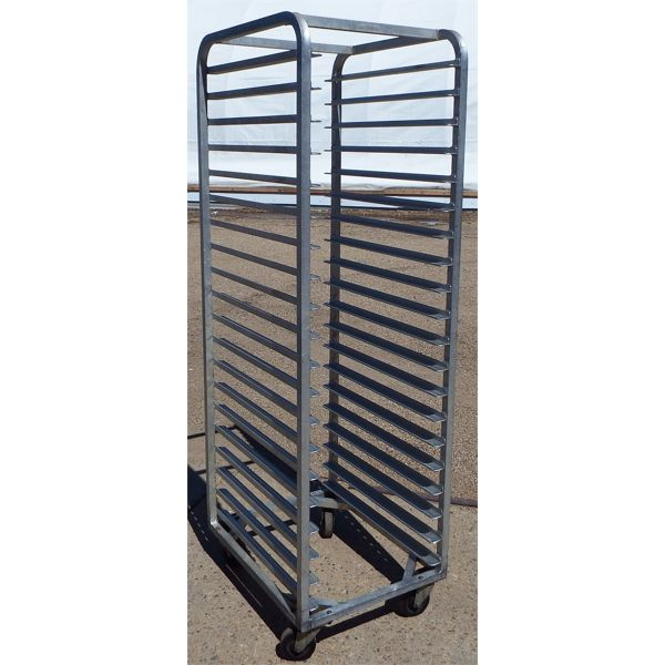 Used Standard Bakers Rack on Casters