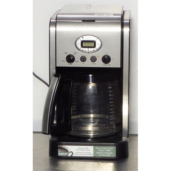 Used Cuisinart Coffee Machine with 14 Cup Carafe
