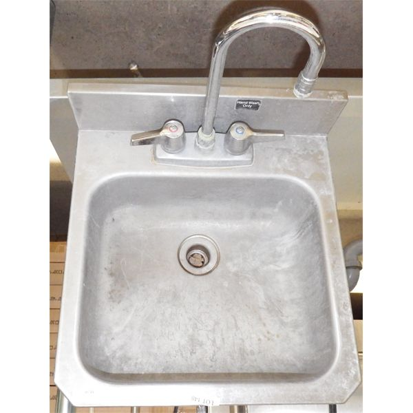 Used SS Handsink with Tap