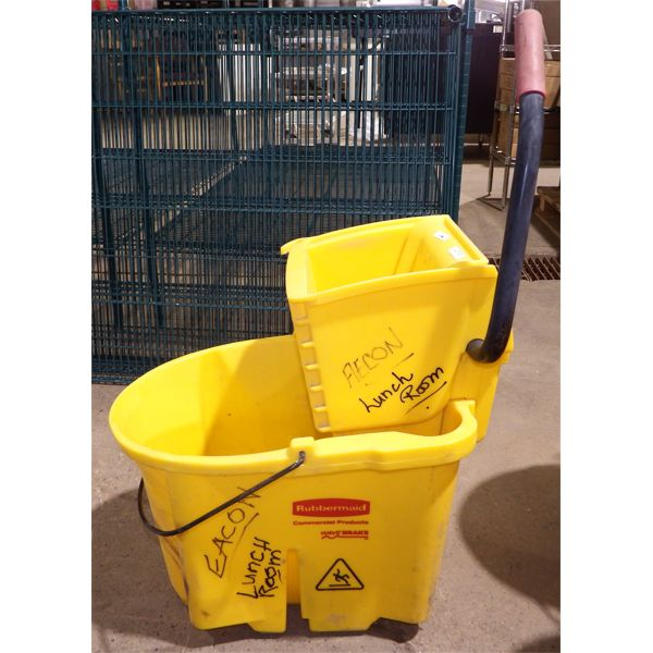 Used Rubbermaid Mopping Bucket no wheels
