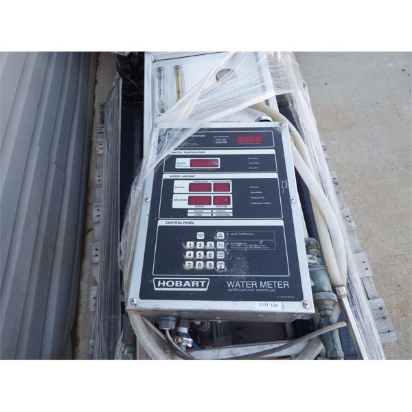 Used Hobart Water Meter Microcomputer-controlled with filteration system